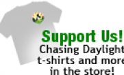 Chasing Daylight tshirts and more